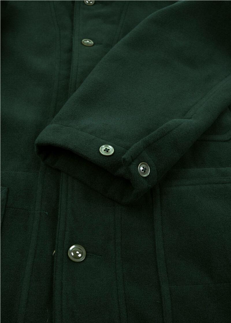 Engineered-Garments-Shawl-Collar-Jacket-Forest-Green-Poly-Fake-Melton-05