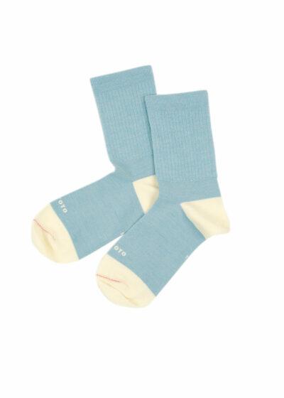 Rototo-Hybrid-Crew-Socks-Merino-Wool-L.blue-White-02