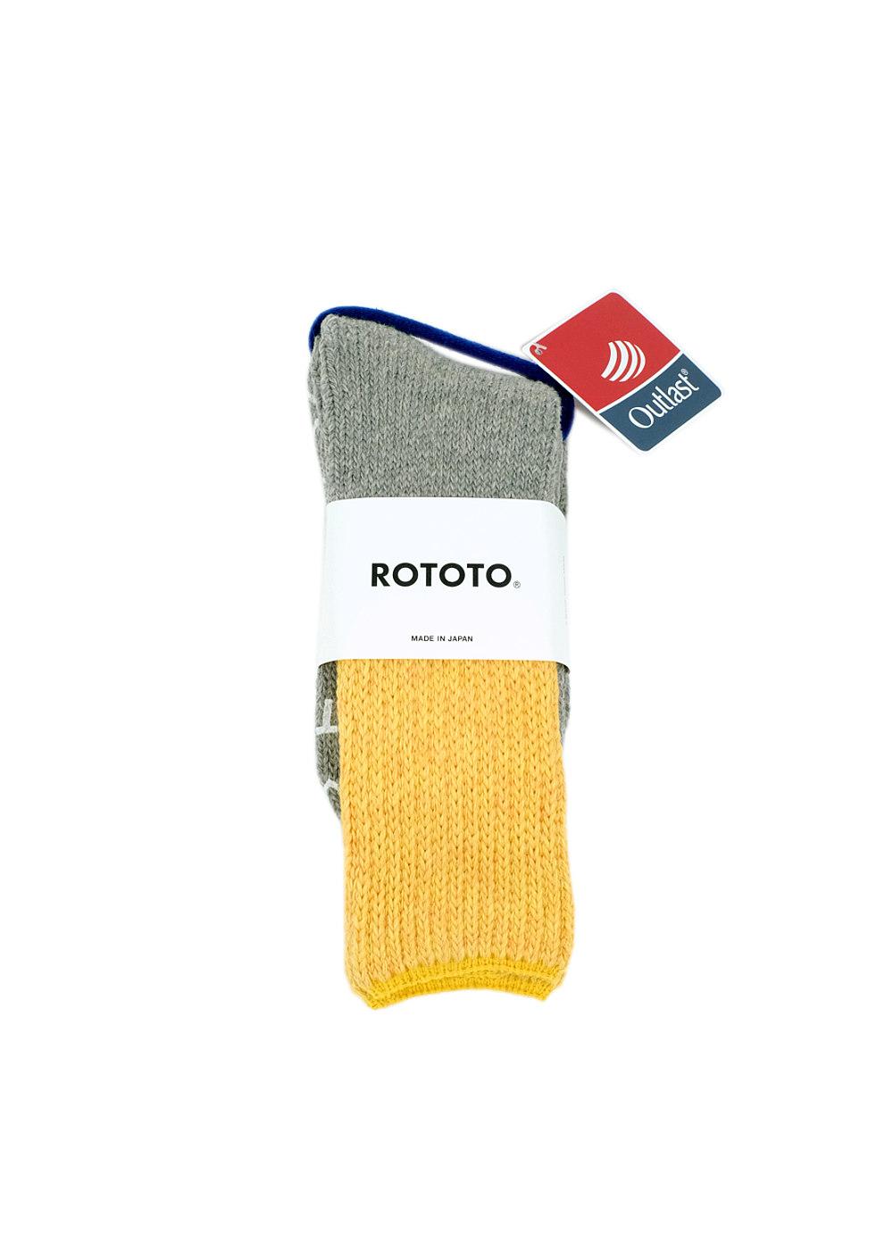 Rototo-Teasel-Socks-Yellow-L.gray-01